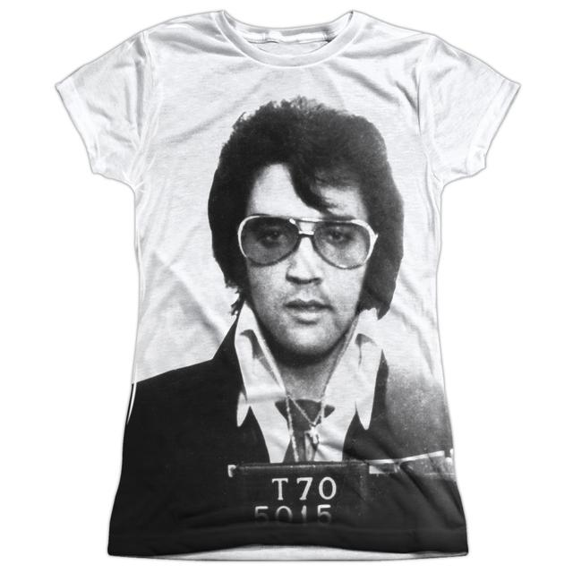 Elvis Presley Junior's T Shirt | MUGSHOT Sublimated Tee