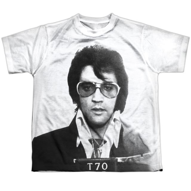 Elvis Presley Youth Shirt | MUGSHOT Sublimated Tee