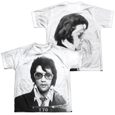 Elvis Presley Youth Shirt | MUGSHOT (FRONT/BACK PRINT) Sublimated Tee