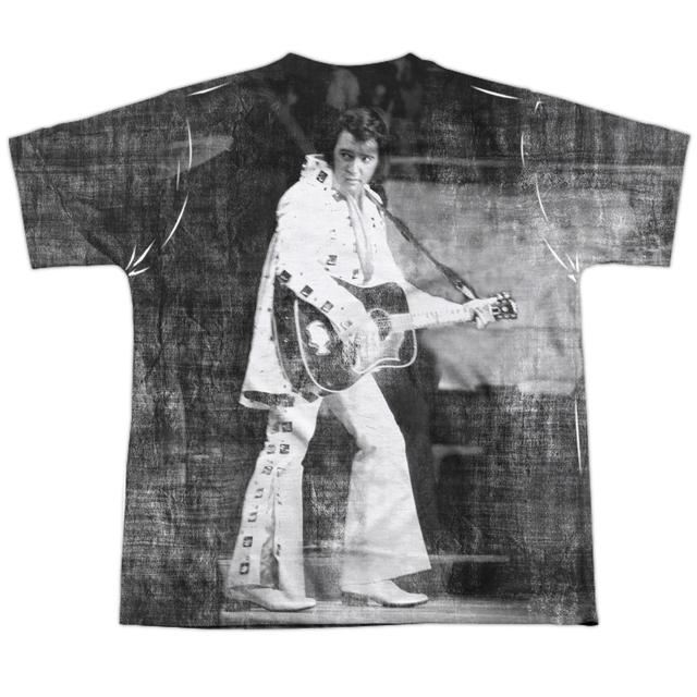 Elvis Presley Youth Shirt | LEGENDARY PERFORMANCE (FRONT/BACK PRINT) Sublimated Tee