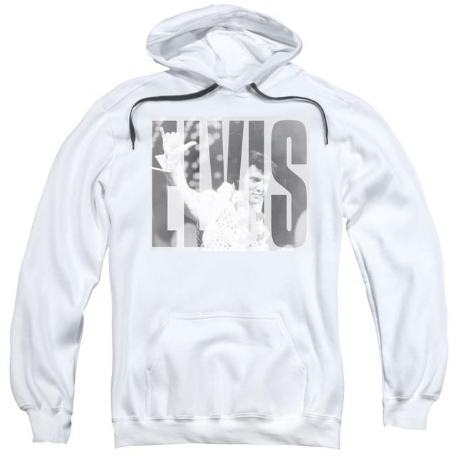 Elvis Presley Hoodie | ALOHA GRAY Pull-Over Sweatshirt