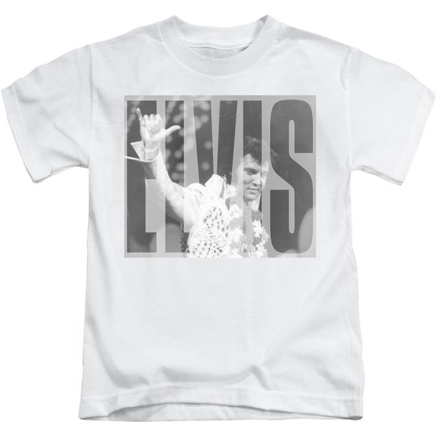 Elvis Presley Kids T Shirt | ALOHA GRAY Kids Tee