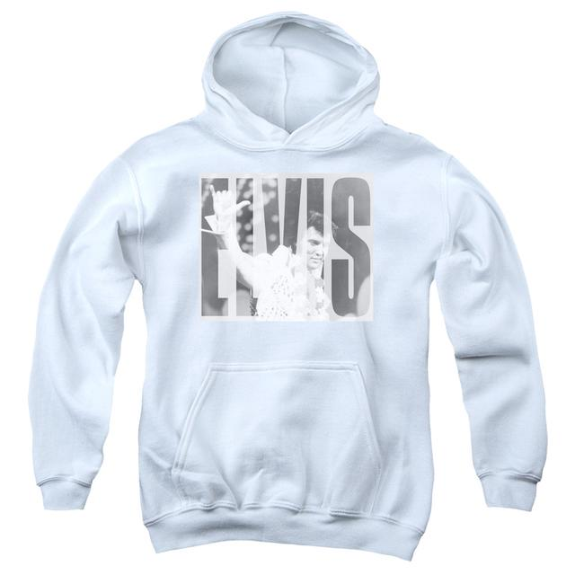 Elvis Presley Youth Hoodie | ALOHA GRAY Pull-Over Sweatshirt