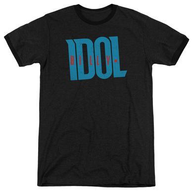 Billy Idol Shirt | LOGO Premium Ringer Tee