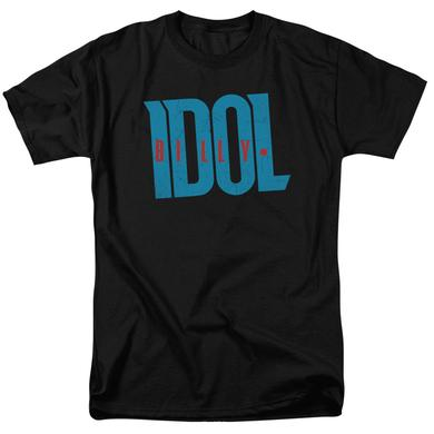 Billy Idol Shirt | LOGO T Shirt
