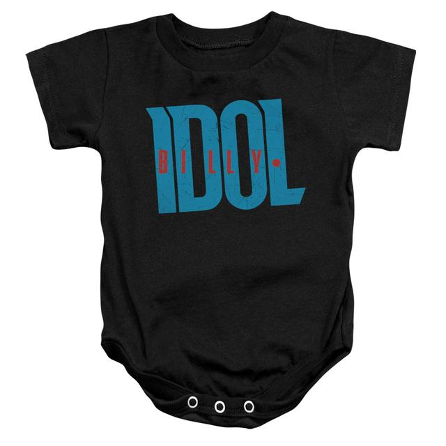 Billy Idol Baby Onesie | LOGO Infant Snapsuit