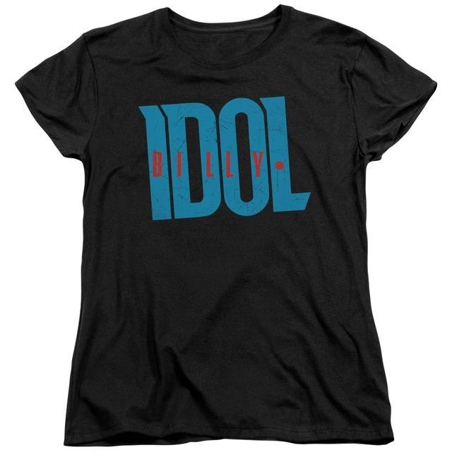 Billy Idol Women's Shirt | LOGO Ladies Tee