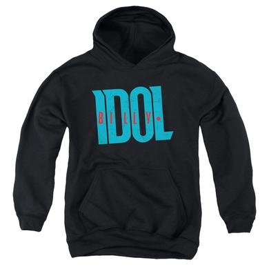 Billy Idol Youth Hoodie | LOGO Pull-Over Sweatshirt