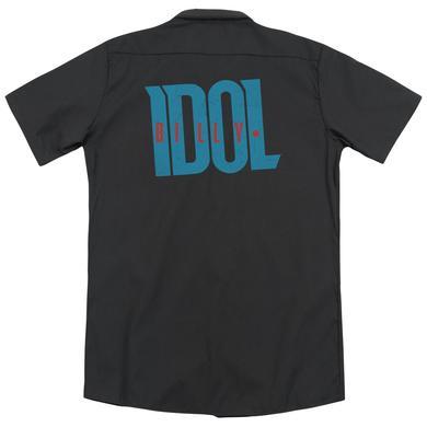 Billy Idol LOGO(BACK PRINT)
