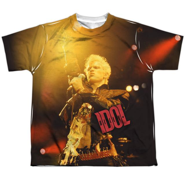 Billy Idol Youth Shirt | REBEL (FRONT/BACK PRINT) Sublimated Tee