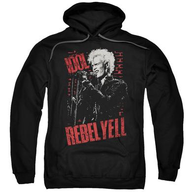 Billy Idol Hoodie | BRICK WALL Pull-Over Sweatshirt