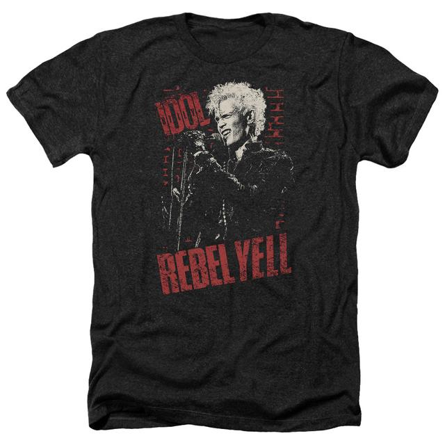 Billy Idol Tee | BRICK WALL Premium T Shirt