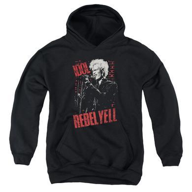 Billy Idol Youth Hoodie | BRICK WALL Pull-Over Sweatshirt