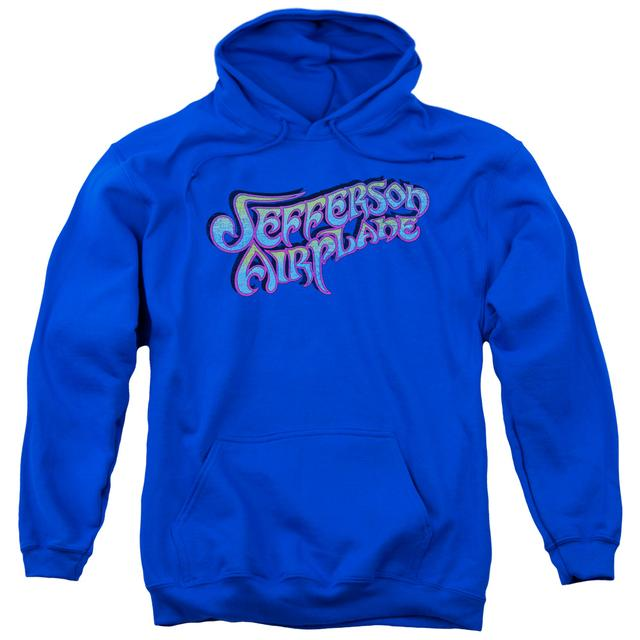 Jefferson Airplane Hoodie | GRADIENT LOGO Pull-Over Sweatshirt