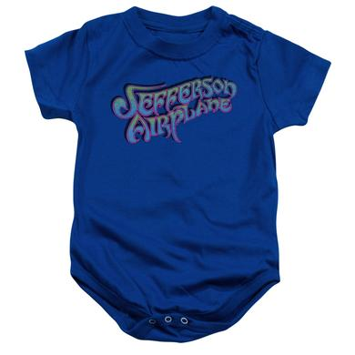 Jefferson Airplane Baby Onesie | GRADIENT LOGO Infant Snapsuit