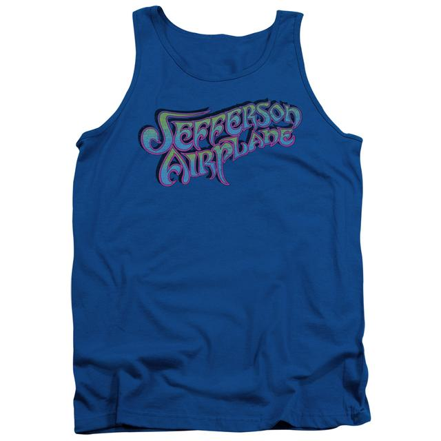 Jefferson Airplane Tank Top | GRADIENT LOGO Sleeveless Shirt