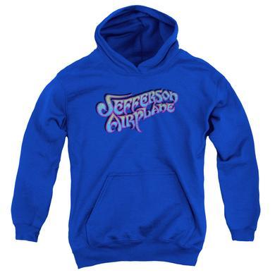 Jefferson Airplane Youth Hoodie | GRADIENT LOGO Pull-Over Sweatshirt