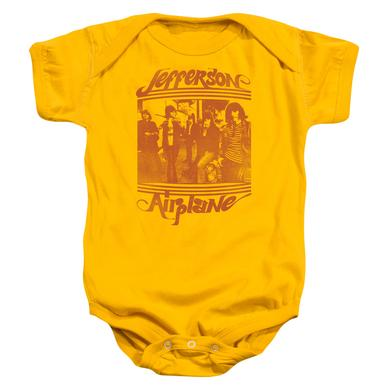 Jefferson Airplane Baby Onesie | GROUP PHOTO Infant Snapsuit