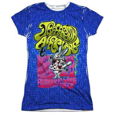 Jefferson Airplane Junior's T Shirt | WHITE RABBIT Sublimated Tee