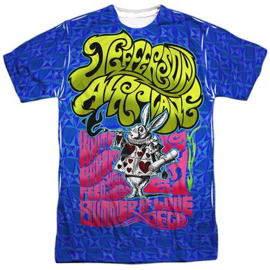 Jefferson Airplane Shirt | WHITE RABBIT (FRONT/BACK PRINT) Tee