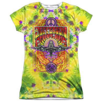 Jefferson Airplane Junior's T Shirt | TAKE OFF Sublimated Tee
