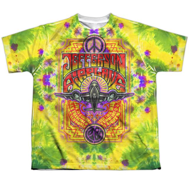 Jefferson Airplane Youth Shirt | TAKE OFF Sublimated Tee