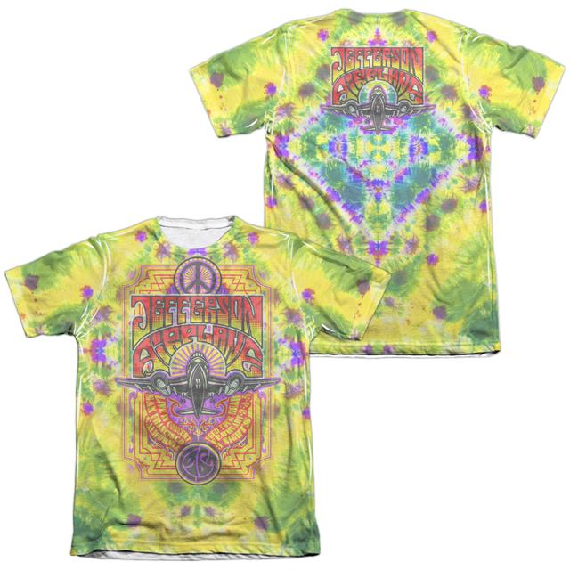 Jefferson Airplane Shirt   TAKE OFF (FRONT/BACK PRINT) Tee