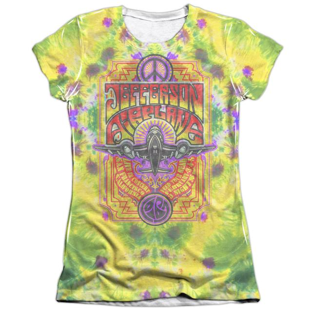 Jefferson Airplane Junior's Shirt | TAKE OFF (FRONT/BACK PRINT) Junior's Tee
