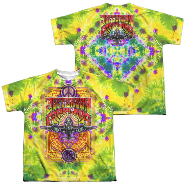 Jefferson Airplane Youth Shirt | TAKE OFF (FRONT/BACK PRINT) Sublimated Tee