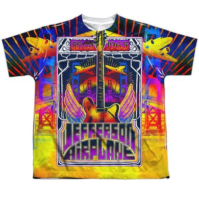 Jefferson Airplane Youth Shirt | SAN FRANCISCO Sublimated Tee