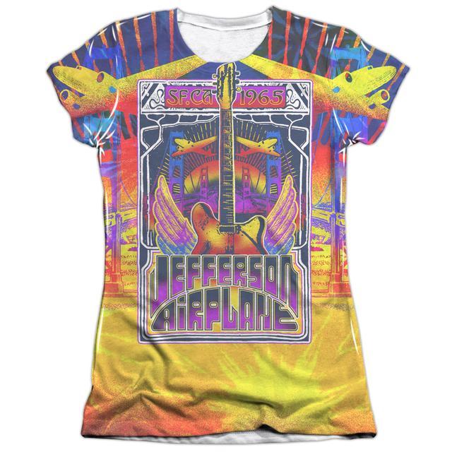 Jefferson Airplane Junior's Shirt   SAN FRANCISCO (FRONT/BACK PRINT) Junior's Tee