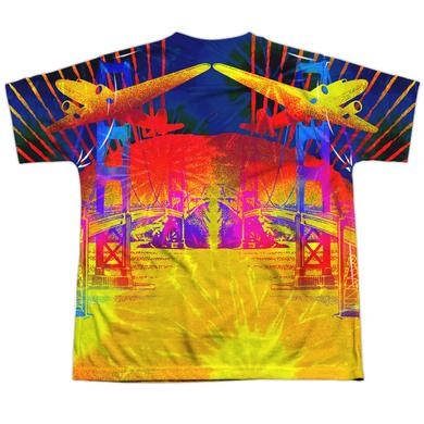 Jefferson Airplane Youth Shirt | SAN FRANCISCO (FRONT/BACK PRINT) Sublimated Tee