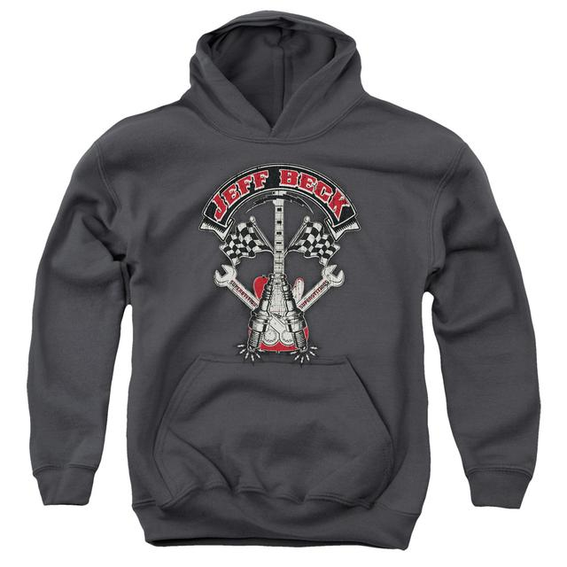 Jeff Beck Youth Hoodie | BECKABILLY GUITAR Pull-Over Sweatshirt