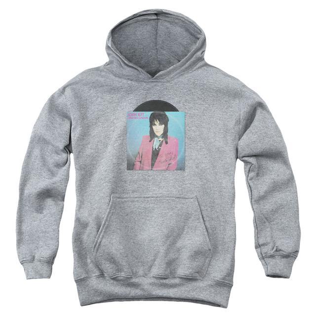 Joan Jett & The Blackhearts Youth Hoodie | ROCK N ROLL 45 Pull-Over Sweatshirt