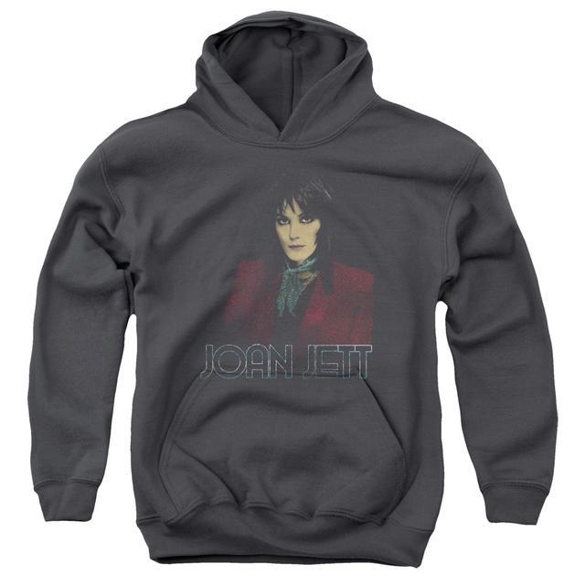 Joan Jett & The Blackhearts Youth Hoodie | WORN JETT Pull-Over Sweatshirt