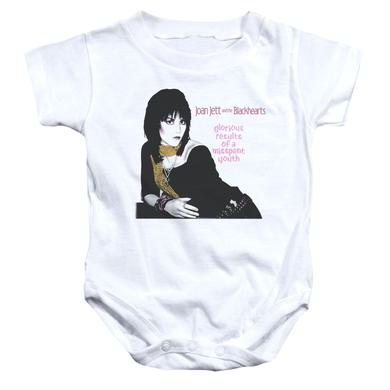 Joan Jett & The Blackhearts Baby Onesie | MISSPENT YOUTH Infant Snapsuit