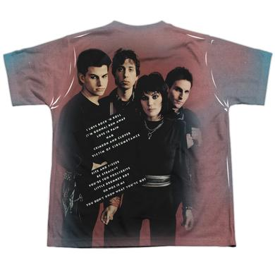 Joan Jett & The Blackhearts Youth Shirt | I LOVE ROCK AND ROLL (FRONT/BACK PRINT) Sublimated Tee