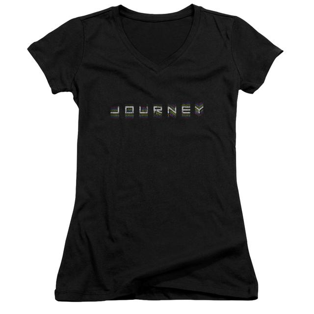 Journey Junior's V-Neck Shirt | REPEAT LOGO Junior's Tee