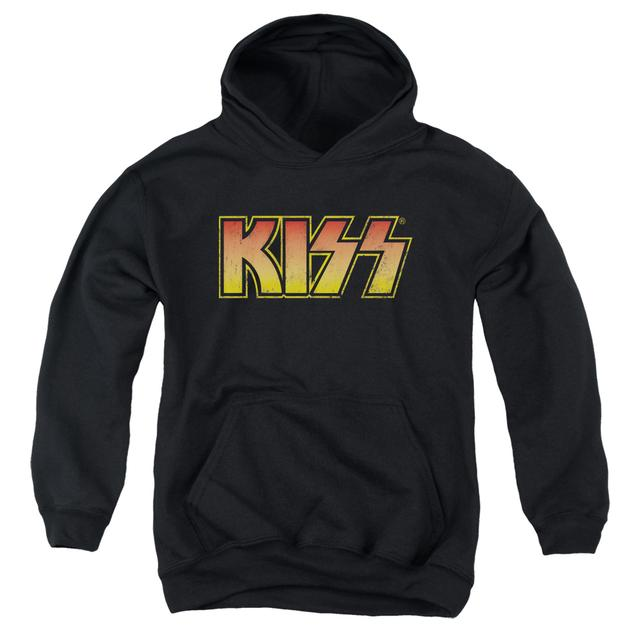 Kiss Youth Hoodie | CLASSIC Pull-Over Sweatshirt