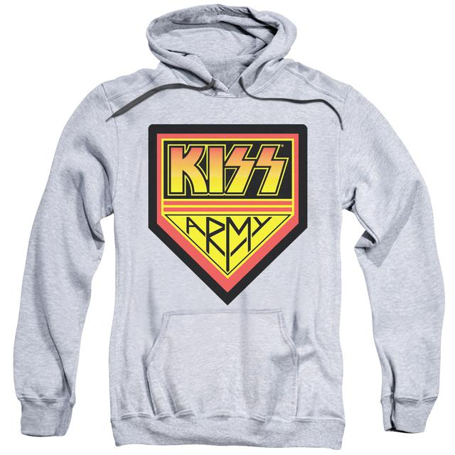 Kiss Hoodie |  ARMY LOGO Pull-Over Sweatshirt