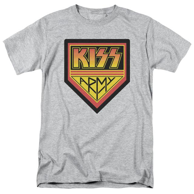 Kiss Shirt |  ARMY LOGO T Shirt