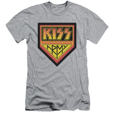 Kiss Slim-Fit Shirt |  ARMY LOGO Slim-Fit Tee