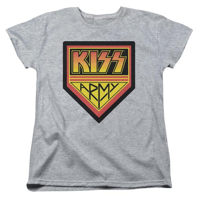 Kiss Women's Shirt |  ARMY LOGO Ladies Tee