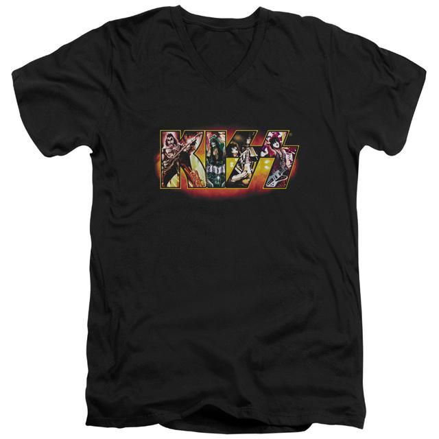 Kiss T Shirt (Slim Fit)   STAGE LOGO Slim-fit Tee