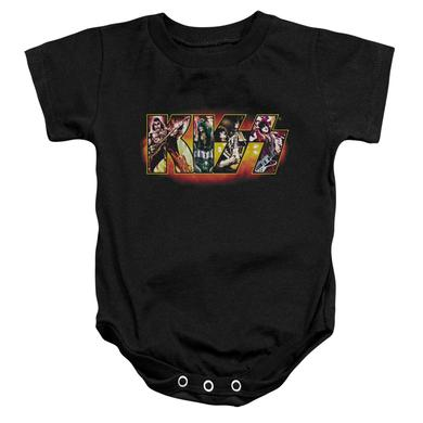 Kiss Baby Onesie | STAGE LOGO Infant Snapsuit