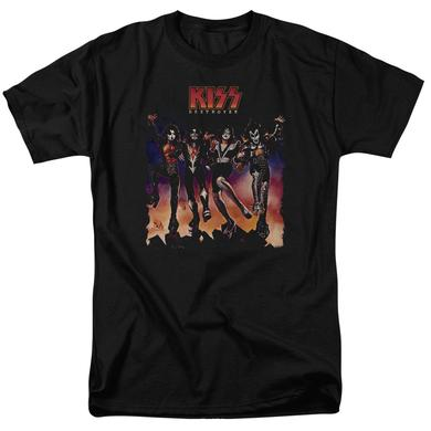 Kiss Shirt | DESTROYER COVER T Shirt