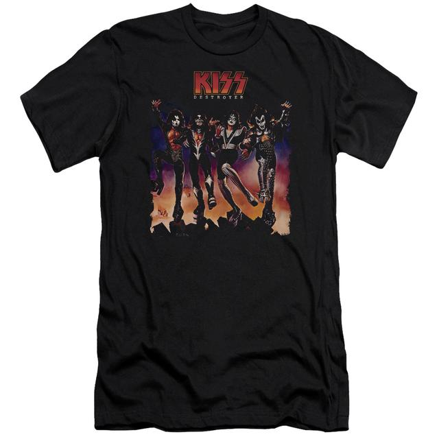 Kiss Slim-Fit Shirt | DESTROYER COVER Slim-Fit Tee