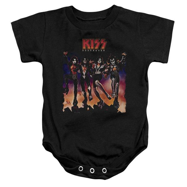 Kiss Baby Onesie | DESTROYER COVER Infant Snapsuit