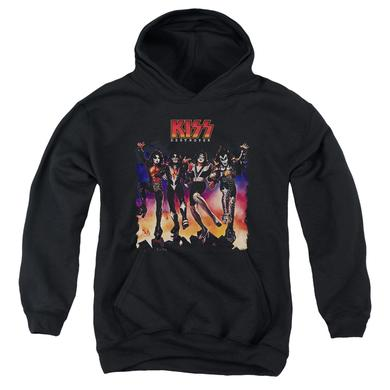 Kiss Youth Hoodie | DESTROYER COVER Pull-Over Sweatshirt