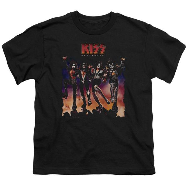 Kiss Youth Tee | DESTROYER COVER Youth T Shirt